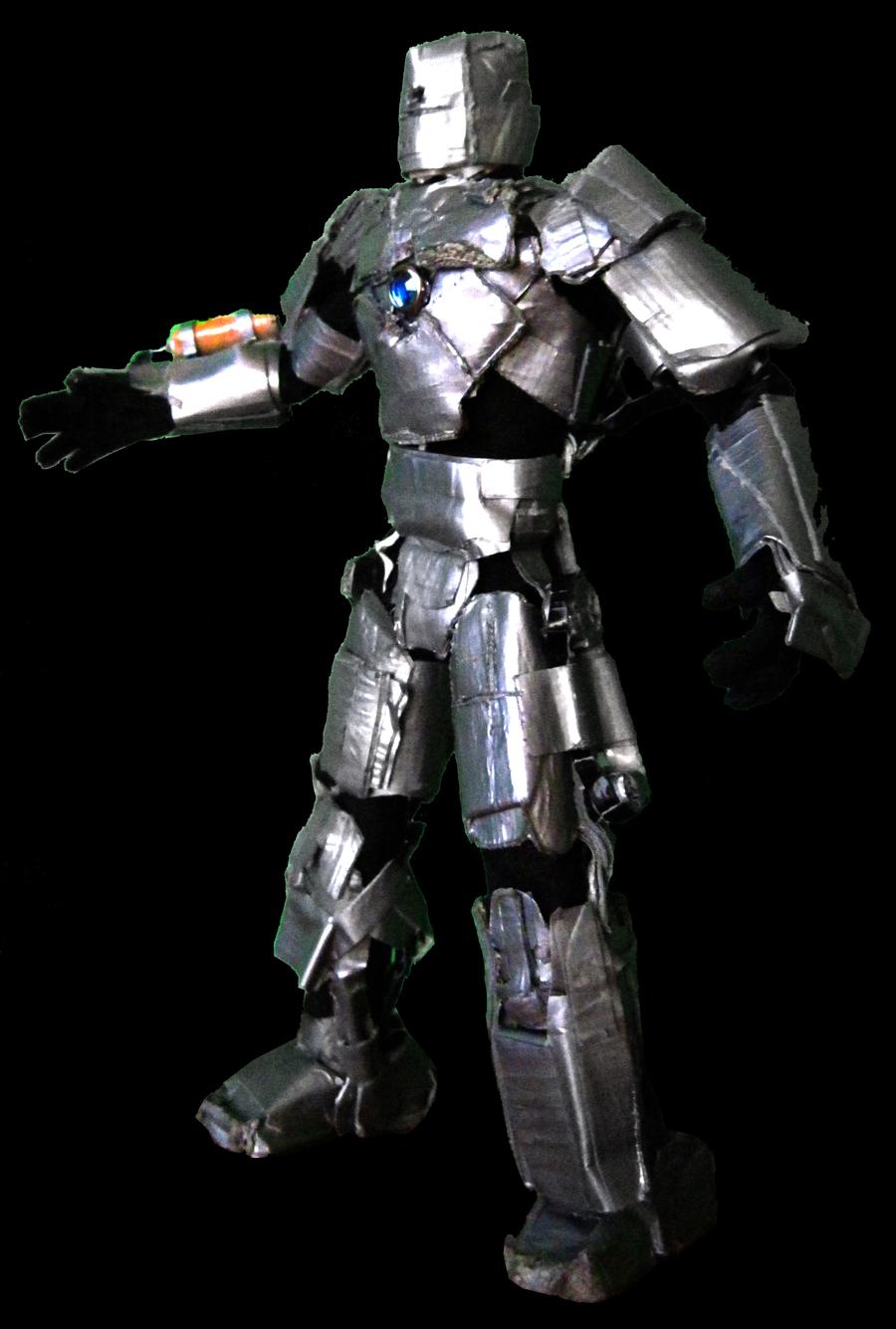 Iron Man MK I stdng side prof 04