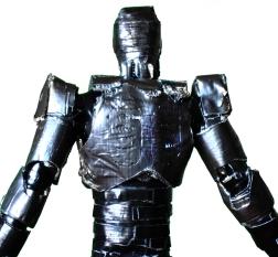 Robocop, Tape Figure, Alex Murphy, Cyborg, Cop, Figure, Tape, Duck Tape,