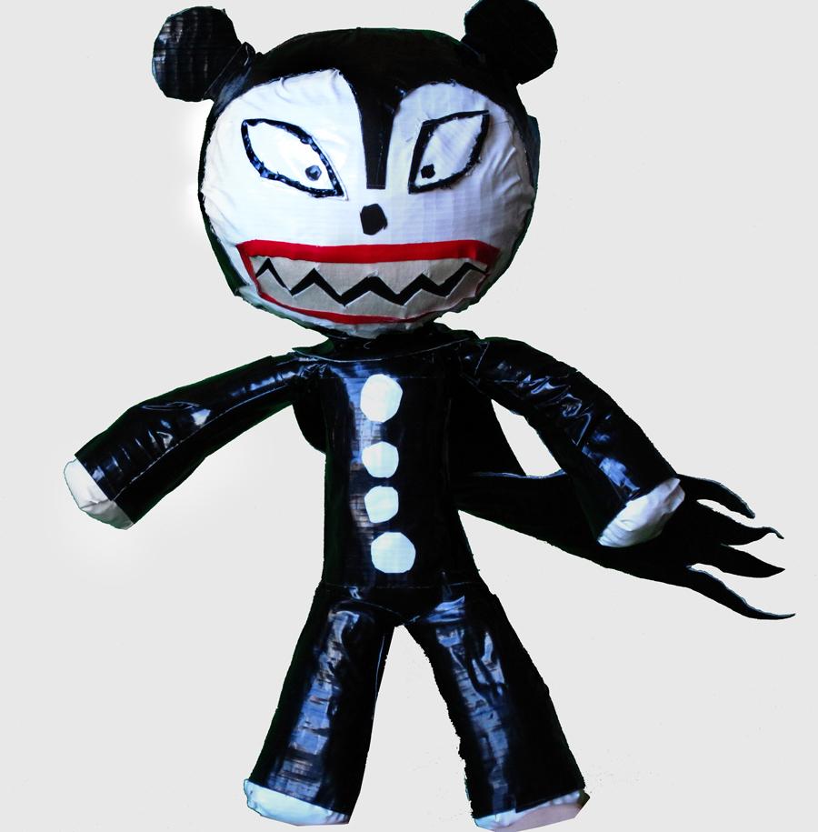 Vampire Teddy Tape Figure | Alberto Lopez