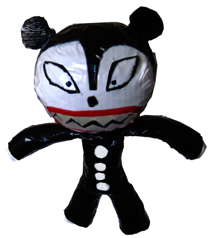 Vampire Teddy Tape Figure – PEZDURO